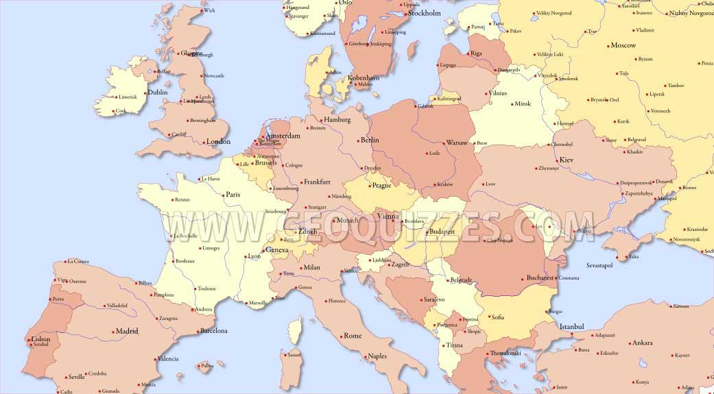 Europa Terkep Jatek Marlpoint